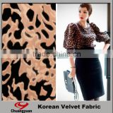 spandex new design printing for dress women/Super soft velvet fabric/woman cloth fabric /woman dress fabric