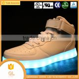 Best gift led sneakers RGB light shoes,disco dancing led shoes