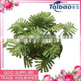 New year decoration Tianjin flower factory wholesale artificial green leaves
