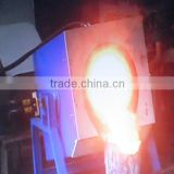 Induction Furnace Type and New Condition 100kg Aluminium and Aluminium Scrap or Aluminium Alloy Melting Furnace
