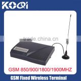 QUAD BAND 850/900/1800/1900MHz FIXED WIRELESS TERMINAL GSM GATEWAY PSTN