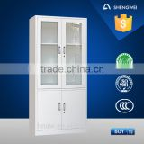 China offcie furniture manufacturer supply filing cabinet/steel facie cabinet/glass display cabinet