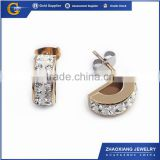 CCE0037 models rings for women fashion earring with crystal