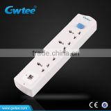 4 gang power electric floor outlet computer socket