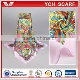 Turkish Style Printed Satin Muslim Hijab Scarf                                                                         Quality Choice