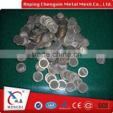 alibaba china stainless steel crimped Filter rope disc screens