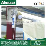 pvc window awning motor