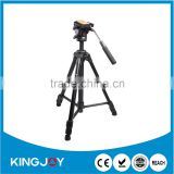 professional tripod outdoor with quick release plate video head for travel photography VT-1500
