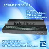 HOT SALE!! Ejoin GOIP 32 port ACOM532g-32/128 goip gsm gateway dual sim voip gateway EBO with IMEI change