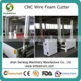 SM1330 hot sale 2D Shape eps cutting machine,CNC Hot Wire Foam Cutter