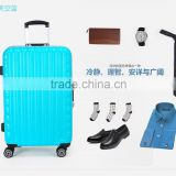 PC Material ISO9001 Certificate Suitcase International Traveller Factory Price 3pcs Aluminum Luggage