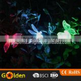Outdoor Lawn Pathway Color Change Dragonfly/Bird/Sunflower/Butterfly Solar Garden Lights