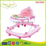 BW-01B push bar design new model baby walker, softextile baby walker with soft cushion