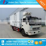Dongfeng 3 CBM frozen food refrigerator truck/ice cream transportation truck body/cooling box truck                                                                                                         Supplier's Choice