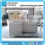 CE approved popular extruder machine for chewing gum