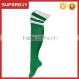 V-684 Custom elite sports football socks cycling compression hign knee sport soccer socks