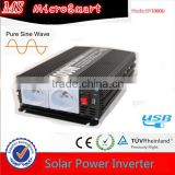 High frequency dc 12V 24V 48V to ac 120V 220V off grid Pure Sine Wave Power Inverter 2000w for Solar Power