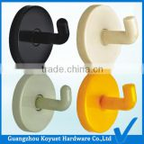 Wholesale Modern Free Sample Factory Directly Toilet Partition Accessories Plastic Bathroom Clothes Hook Door Hang
