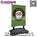 Advertising Display Stand Promotion Usage aluminum profile water base A board sign stand