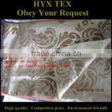 Cationic flocked fabric with flower design/ curtain flocked fabric/ garment fabric/ decorative fabric/ Flower Flocked Fabric