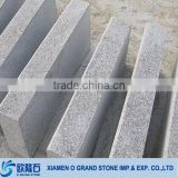Wholesale cheap G655 rice granite block white granite kerbstone