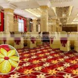 High Quality Wool Axminster Banquet Hall Carpet with 3D pattern