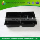 Plastic material food use microwave tray