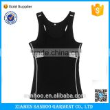 Wholesale Clothing Alibaba Online Shopping Stringer Tank Top Gym Wear Women Sport T Shirt Printed Label Vest