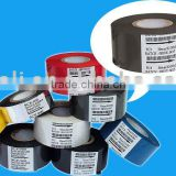 Hot stamping ribbon for plastic pouch