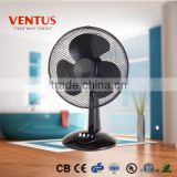 HOT SALES 16 inch BLACK PLASTIC DESK FAN VF-16DK/ELECTRIC FAN