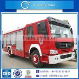 Brand new top sell good quality customized low price 8ton 8000L 8cbm 4x2 sinotruk howo water tank fire truck
