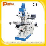 XZX6350C with DRO price of China vertical drilling and milling machine, mill machine, drill machine