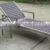 aluminum and polywood outdoor lounge/outdoor plastic chaise lounge chairs