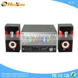 fashion design model technics 2.1 speakers surround sound fm radio home theater system made in china N-21
