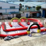 OEM China Cheap Inflatable Race Track Go Kart Track Inflatable Games