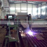 high definition plasma with manual gas console CNC plasma cutting machine with good cutting quality