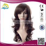 2015 Hot selling Heat Resistant Fiber synthetic wigs