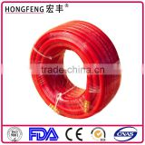 1/4 red inflatable rubber air duct hose super soft rubber tube oxygen acetylene hose pressure high temperature