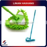 China manufacturer OEM multi-function scalable cleaning bath mop brush microfiber triangle mop