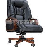 classic recliner wooden executive chair for boss AB-307