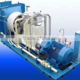 Air Cooling 0.07-25MPa Pressure Booster Pure Natural Gas CNG Compressor