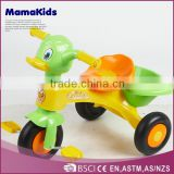 Popular cartoon baby trike plastic children ride on car adjustable lovely cheap kids tricycle