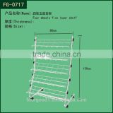 Metal Wire Rack For Supermarket Can Goods Display
