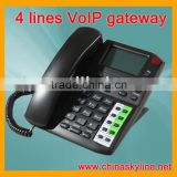 4 lines VoIP Phone,support H.323 and SIP,dect cordless phone