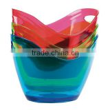 3.5L Mini Plastic acrylic ice bucket for beer promotion, champagne wine ice bucket for party