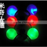 Wholesale Light up Mickey Mouse Ears/ LED Party Favor Flashing Light Up Headband Dress Up