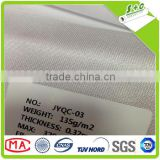 hot selling 135gsm knitted polyester golssy flag decoration fabric for UV printer