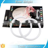 Multi-color milk white ice blue pink80mm,95mm led COB Angel eye Fog Lamp Halo Ring Driving Light 12v led ring light