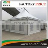 Corporate Pagoda Marquee Event Tent With Rain Gutter 8x8m and air-conditioning