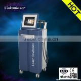 Multifunctional radio-frequency device lipo laser cavitation and vacuum therapy